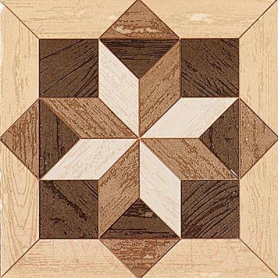 Декоративный керамический паркет Kerama Marazzi Вставка Фореста AD\B52\4585 (201x201)
