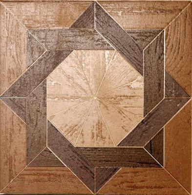 Декоративный керамический паркет Kerama Marazzi Вставка Фореста AD\C51\4585 (201x201)
