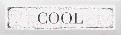 Декоративная плитка Kerama Marazzi Гамма Cool NT\B28\2882 (285x85, черный)