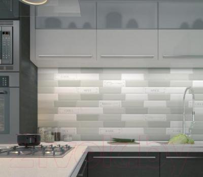 Декоративная плитка для кухни Kerama Marazzi Гамма Tea NT\B54\2882 (285x85, черный)