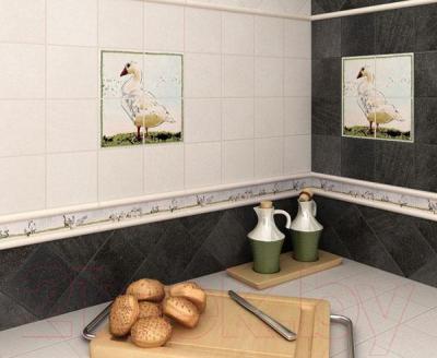 Декоративная плитка для кухни Kerama Marazzi Прованс A1911\1221Т (99x99)
