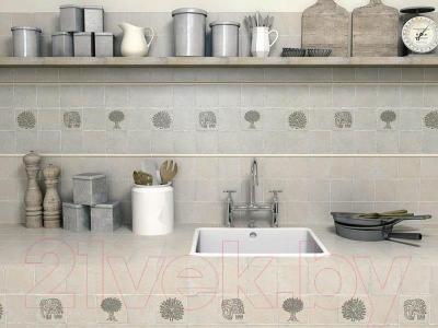 Декоративная плитка для кухни Kerama Marazzi Каламкари Барельеф TOA001 (99x99)