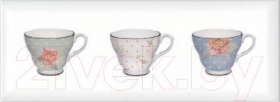 Декоративная плитка Kerama Marazzi Веджвуд Чашки Грань STG\A274\15036 (400x150, белый)