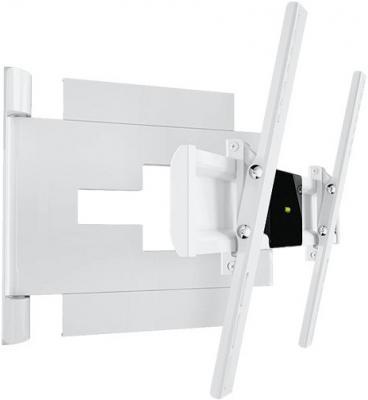 Кронштейн для телевизора Holder LEDS-7024 White - вполоборота