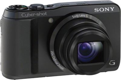 Компактный фотоаппарат Sony Cyber-shot DSC-HX20 Black - общий вид