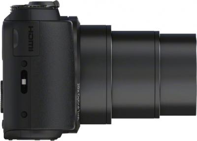 Компактный фотоаппарат Sony Cyber-shot DSC-HX20 Black - вид сбоку