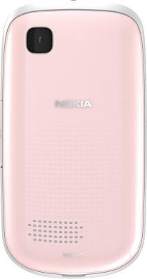 Мобильный телефон Nokia Asha 200 Light Pink - задняя панель