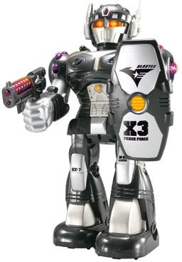 Робот/трансформер Hap-p-Kid 3568T (черный) - общий вид