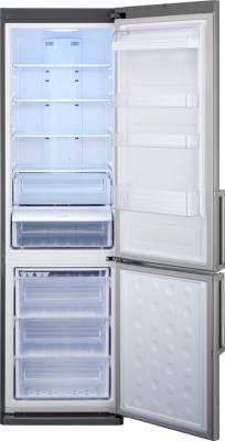 Холодильник с морозильником Samsung RL48RRCMG1 - общий вид