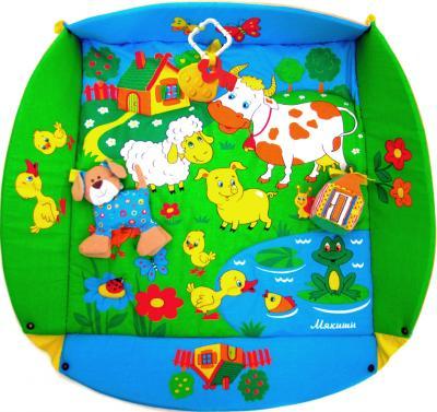Игровой коврик Мякиши Лужайка (с собачкой) 192 - без дуг