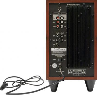 Мультимедиа акустика Lars Vaensoon LV-5101 - вид сзади