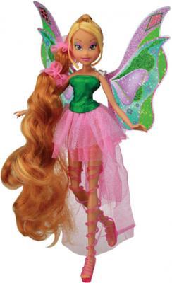 """Кукла Witty Toys Winx Club """"Сила Гармоникс"""" Флора (Flora) - общий вид"""