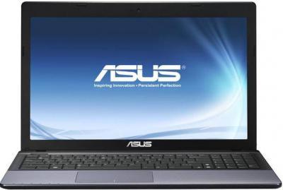 Ноутбук Asus X55VD-SX007D - фронтальный вид