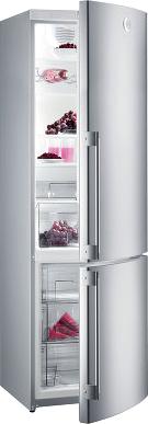 Холодильник с морозильником Gorenje RKV 6500 SYA2 - общий вид