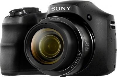 Компактный фотоаппарат Sony Cyber-shot DSC-H100 Black - общий вид