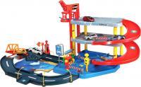 Детский паркинг Bburago Стрит Файер Light and Sound Deluxe Playset (18-30107) -