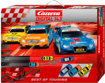 Гоночный трек Carrera Цифровая 143 Лучшая гонка (20040017) - общий вид