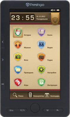 Электронная книга Prestigio PER3374B (microSD 8Gb) - общий вид