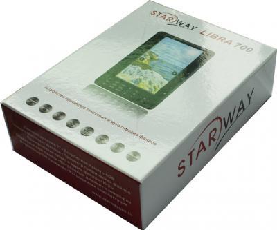 Электронная книга Starway Libra 700 (microSD 8Gb) - коробка