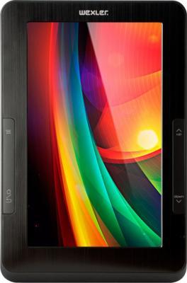 Электронная книга Wexler T7006 Black (microSD 4Gb) - общий вид