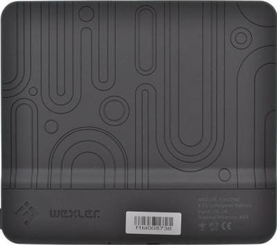 Электронная книга Wexler Flex ONE Black (microSD 8Gb) - вид сзади
