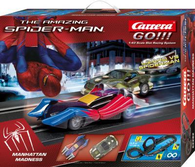 Гоночный трек Carrera Невероятный Человек-Паук (20062282) - общий вид