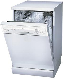 Посудомоечная машина Candy CSF 4570 E - в открытом состоянии