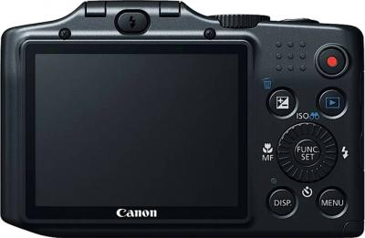Компактный фотоаппарат Canon PowerShot SX160 IS Black - общий вид
