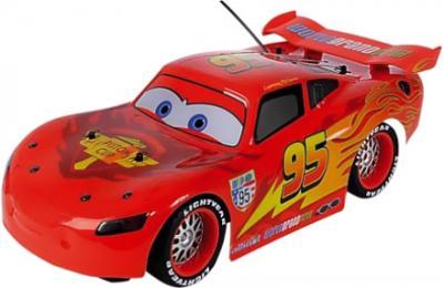 Радиоуправляемая игрушка Dickie Молния МакКуин с комплектом (203089540) - общий вид