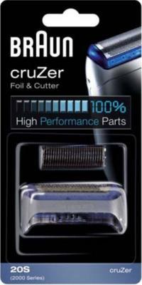Сетка и режущий блок для электробритвы Braun CruZer 20S (81394065) - общий вид