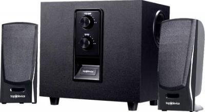 Мультимедиа акустика Top Device TDM-200 Black - общий вид