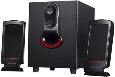 Мультимедиа акустика Top Device TDM-310 Black - общий вид