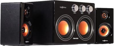 Мультимедиа акустика Top Device TDM-500 (черный) - общий вид