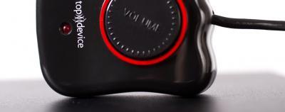 Мультимедиа акустика Top Device TDM-305 Black - проводной пульт