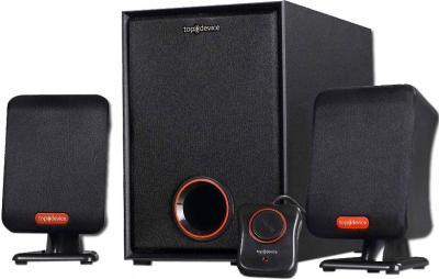 Мультимедиа акустика Top Device TDM-305 Black - общий вид