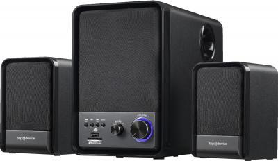 Мультимедиа акустика Top Device TDM-370 Black - общий вид