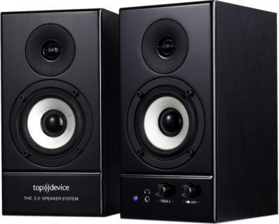 Мультимедиа акустика Top Device TDS-510 Black - общий вид