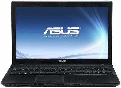 Ноутбук Asus K54HR-SX332D - фронтальный вид