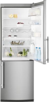 Холодильник с морозильником Electrolux EN3401AOX - общий вид
