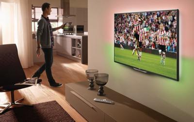Телевизор Philips 47PFL6097T/60 - в интерьере