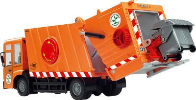 Масштабная модель автомобиля Dickie Мусоровоз 1:24 (203414498) - загрузка мусора
