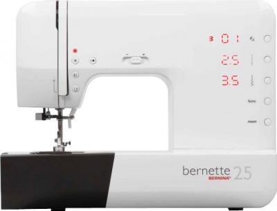 Швейная машина Bernina Bernette 25 - фронтальный вид