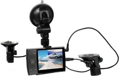 Автомобильный видеорегистратор Jagga DVR 1610DUAL - общий вид