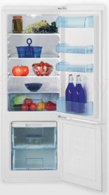Холодильник с морозильником Beko CS 325020 - в открытом виде