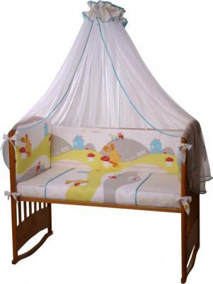 Комплект в кроватку Perina Кроха К4-02.0 (Веселый кролик) - общий вид