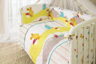 Комплект в кроватку Perina Кроха К4-02.0 (Веселый кролик)