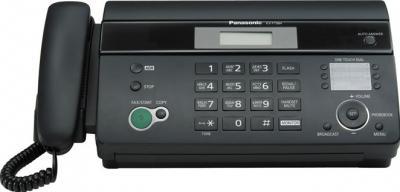 Факс Panasonic KX-FT984RU-B - общий вид