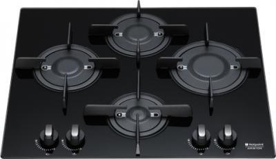 Газовая варочная панель Hotpoint 7HPKQ 644 D GH (K) - общий вид
