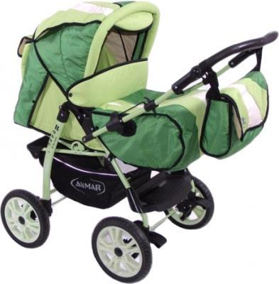 Детская универсальная коляска Anmar Rosse Golden (Green) - общий вид
