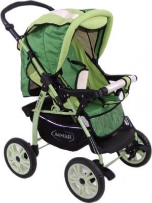 Детская универсальная коляска Anmar Rosse Golden (Green) - прогулочная